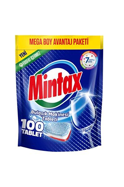 Mintax 7'si Bir Arada Bulaşık Makinesi Tablet Deterjanı 100'li