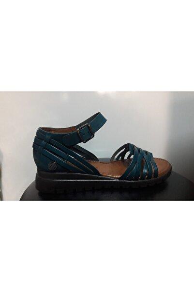 Mammamia Kadın Mavi Sandalet