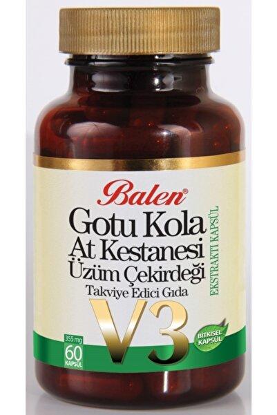 Balen Gotu Kola & At Kestanesi&üzüm Çekirdeği Ekstraktı Kapsül