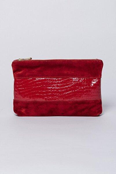 Jacquline Kadın Kırmızı Portföy Çanta