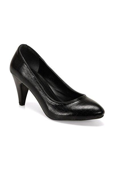 Polaris Kadın Siyah Gova Topuklu Ayakkabı 309022kz