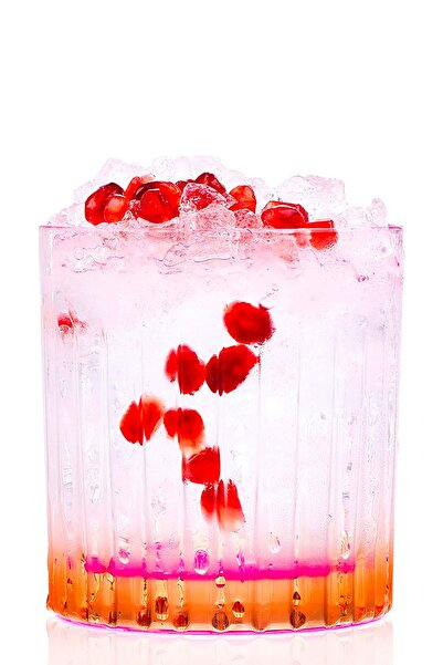 RCR Crystal Rcr Gipsy Viski Ve Kokteyl Bardağı 360 Ml 6'lı Set - Turuncu