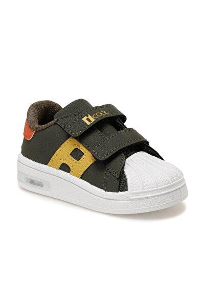 I COOL Erkek Çocuk Haki  Hulk Sneaker Ayakkabı