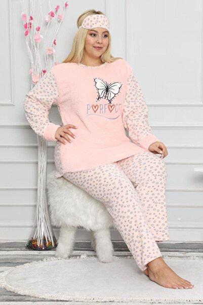 Moday Kadın Pembe Welsoft Pijama Takımı 32d-9056p