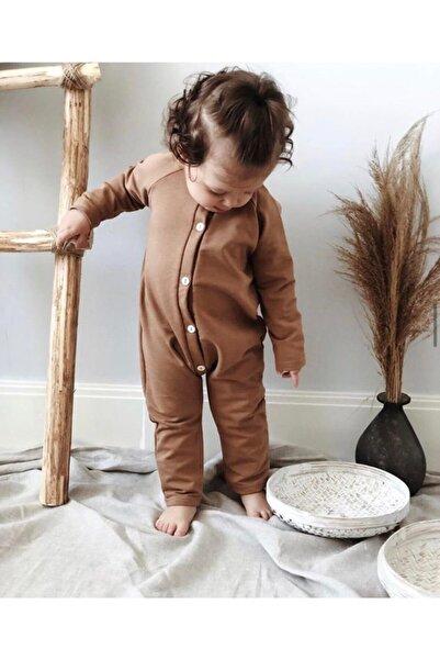 LAL Babyrompers Bebek Kahverengi Tulum