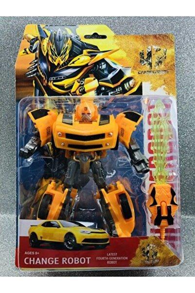 oyuncakchi Transformers Bumble Bee Dönüşen Oyuncak Robot Araba