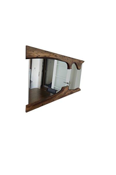 Just Concept Ceviz Kütük Ayna