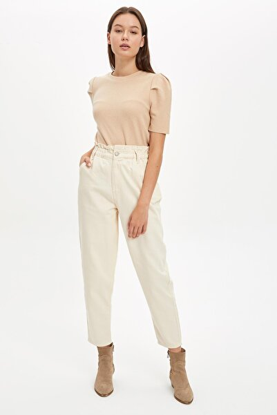 DeFacto Kadın Stone Slouchy Pantolon S7950AZ20AU