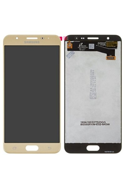 Samsung Galaxy J7 Prime Lcd Orjinal Servis Ekran Gold
