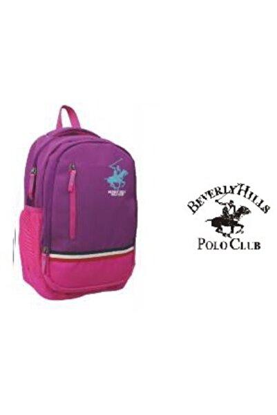 Beverly Hills Polo Club Polo Club Face Sırt Çantası Mürdüm - Pembe