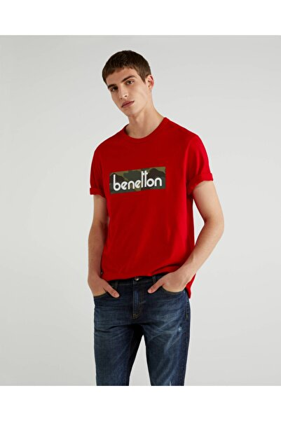 United Colors of Benetton Vintage Logo Tshirt