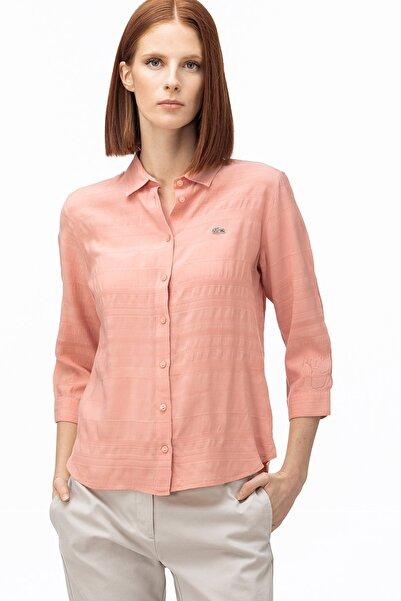 Lacoste Kadın Açık Pembe Gömlek CF0026