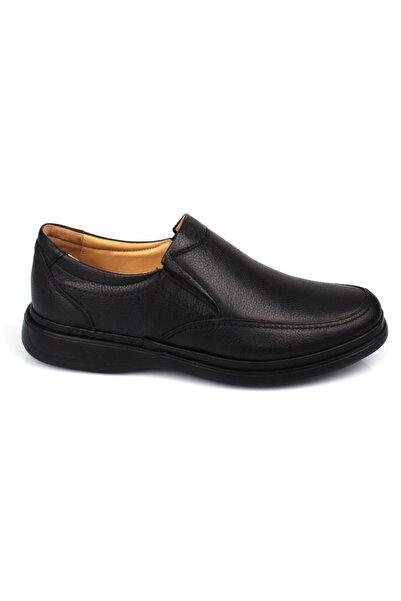 DETECTOR Iç Dış Hakiki Deri Ful Ortopedik Jel Taban Günlük Erkek Ayakkabı