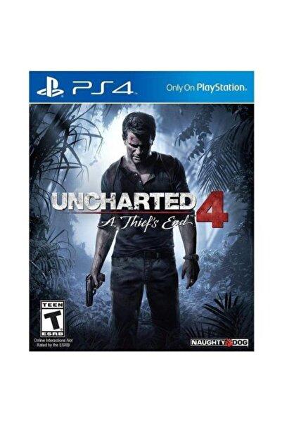 Naughty Dog Uncharted 4 - Ps4 Orjinal Kutulu Sıfır Oyun