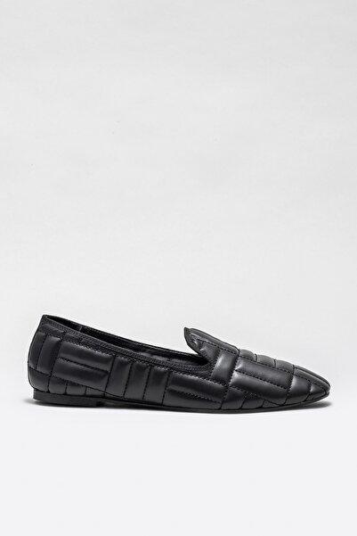 Elle Shoes Kadın Kobzar Sıyah Casual Ayakkabı 20KDY433