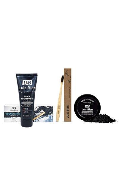 Luis Bien Diş Beyazlatma Seti + Bambu Diş Fırçası