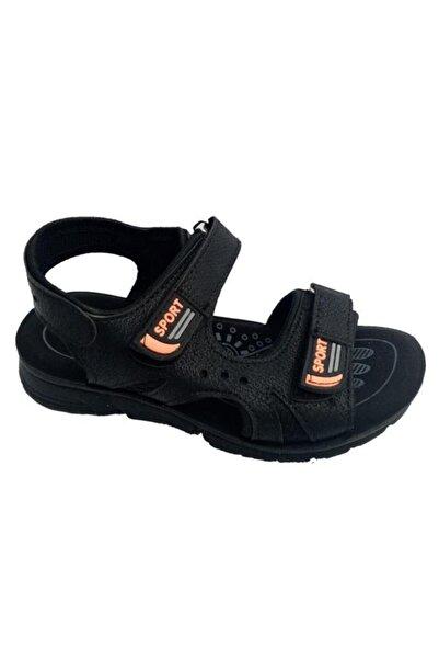 SOYLU Erkek Çocuk Siyah Filet Ortopedik Suya Dayanıklı Sandalet