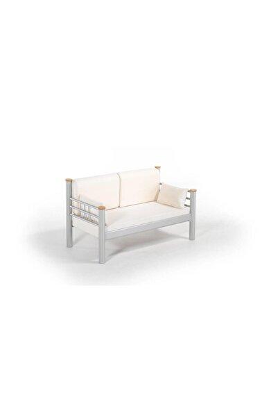 Vivense Kappis Dk Metal Sofa Sedir Gri 70x140cm