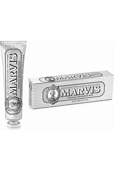 Marvis Smokers Whitening Mint Diş Macunu 85 Ml