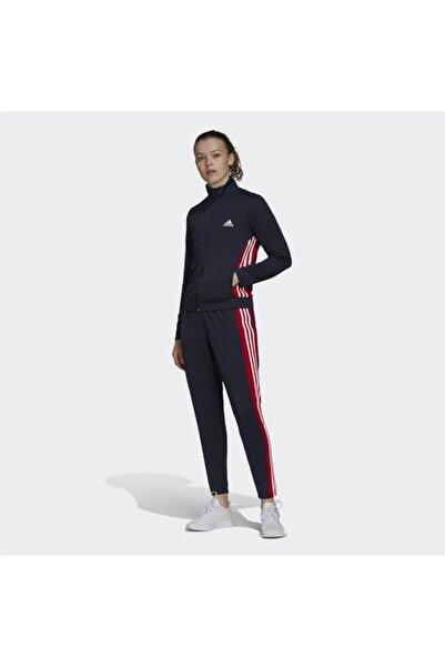 adidas Kadın Siyah Eşofman Takımı W Ts Teamsports