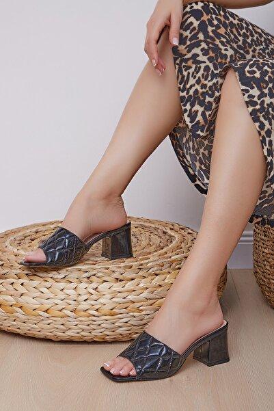 Shoes Time Kadın Siyah Terlik 20y 808