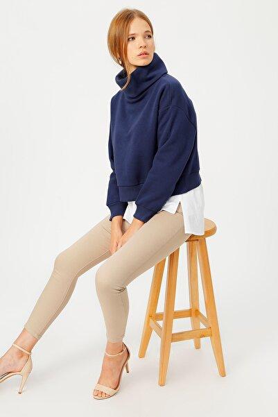 Fabrika Kadın Lacivert Sweatshirt 504871745