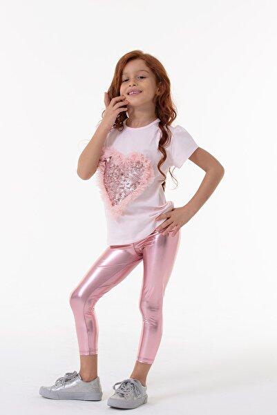 Colorinas Kız Çocuk Pembe Shiny Tayt