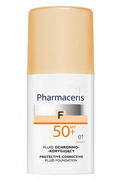 Pharmaceris Koruyucu-Düzeltici Sıvı Fondöten  Spf 50+ 01 Ivory