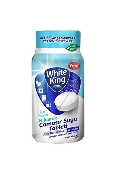 White King Hijyenik Çamaşır Suyu Tableti 32 Adet Kar Beyaz