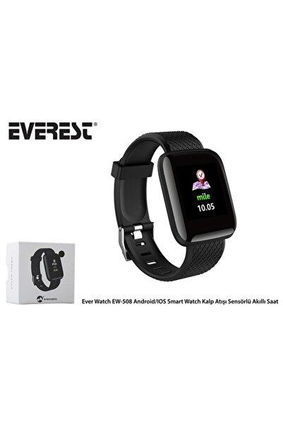 Everest Akıllı Saat Android-ios Smart Watch Kalp Atışı Sensörlü Ew-508