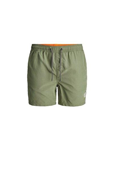 Jack & Jones Erkek Yeşil Bali Solid Şort Mayo12183741-olv