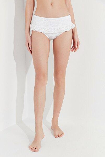 Penti Kadın Beyaz Casey Mini Skirt