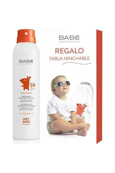 Babe Pediatrik Transparan Güneş Spreyi Spf50 200 ml + Şişme Bot Hediyeli