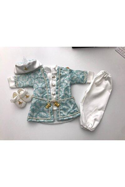Ponpon Baby Bebek Mavi Mevlüt Elbisesi