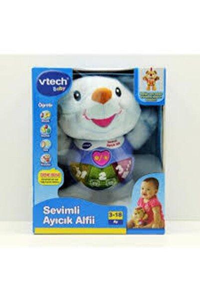 V-tech Vtech Baby Sevimli Ayıcık Alfii - Mavi
