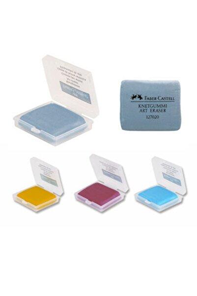 Faber Castell Hamur Silgi Renkli Plastik Kutulu 5130127321000