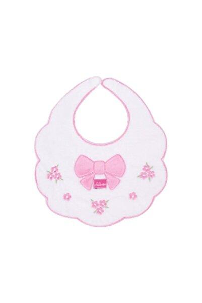 Sevi Bebe Piti Çiçek Mama Önlüğü Art-28 Beyaz