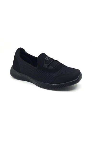 Taşpınar Kadın Siyah Ortopedik Yazlık Babet Spor Ayakkabı 36-40