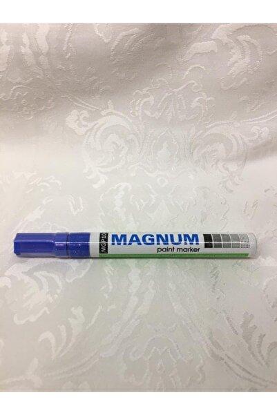 MAGNUM Paint Marker Mavi Keçeli Kalem
