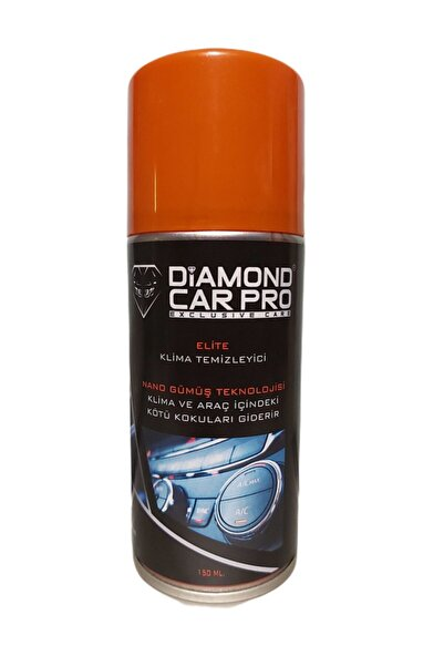 DİAMOND CAR PRO Klima ve Araç Içi Koku Bombası 150 ml  (Elite Parfümlü Nano Gümüş Teknolojisi)