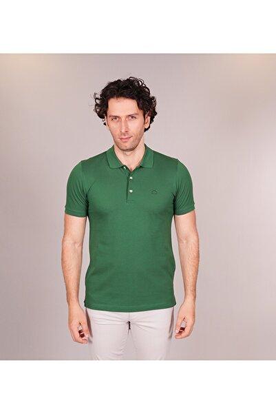 Karaca Erkek Slim Fit T Shirt Ç Yeşil