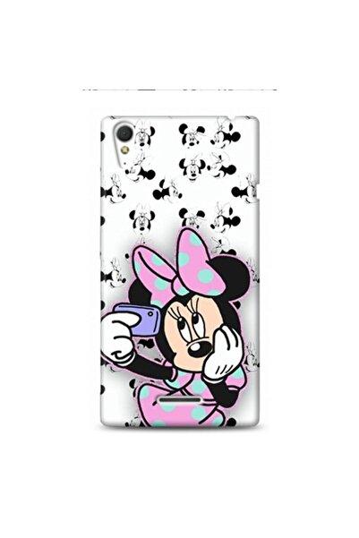 EXCLUSIVE Xperia Xperia T3 Cute Minnie Desenli Telefon Kılıfı