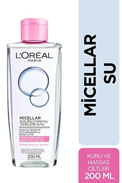 L'Oreal Paris Micellar Makyaj Temizleme Suyu Normalden Ve Kuruya Hassas Ciltler Için 200 ml