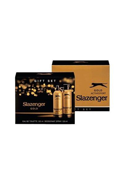 Slazenger Gold Activesport Edt+deo Set