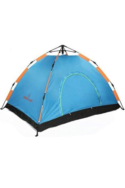 Gringo 3 Kişilik Otomatik Kamp Çadırı 200x150x120 cm Çantalı Sineklik