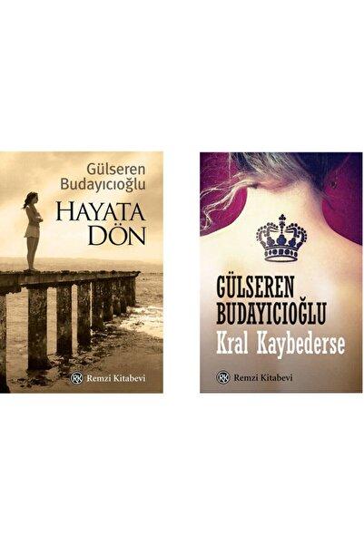 Remzi Kitabevi Hayata Dön + Kral Kaybederse - 2 Kitap Set - Gülseren Budayıcıoğlu