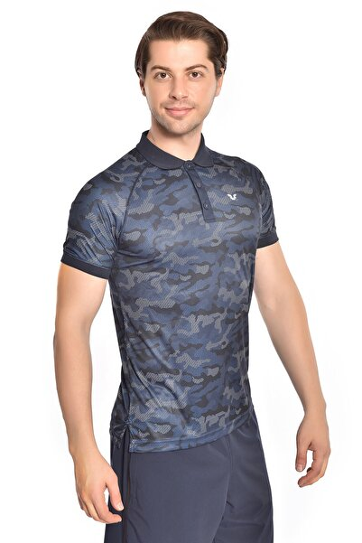 bilcee Erkek Mavi T-shirt Gs-1344