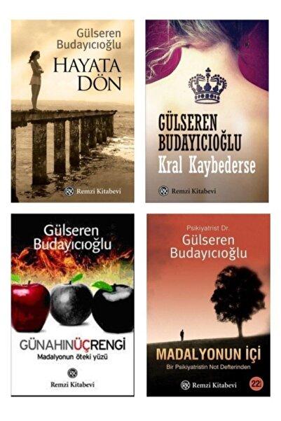 Remzi Kitabevi Gülseren Budayıcıoğlu 4'lü Set Kral Kaybederse Günahın Üç Rengi Madalyonun Içi Hayata Dön