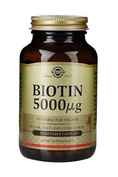 Solgar Biotin 5000 Mcg 50 Kapsül