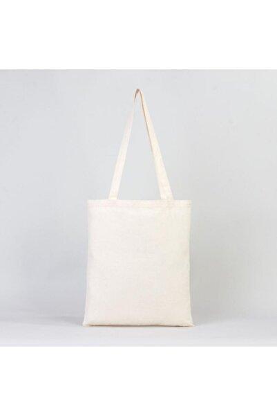 serkan çanta Bez Çanta Baskısız 140 gram %100 Doğal Pamuklu Kumaş